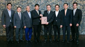 Signing of MoU ceremony