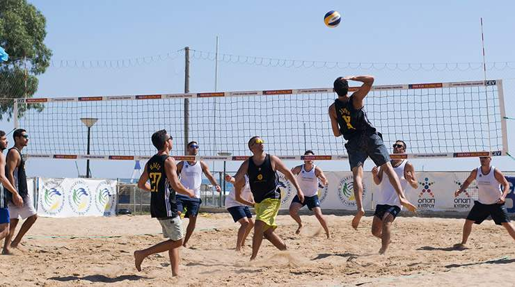 Cyprus Shipping Charity Beach Volley Tournament , Limassol, Cyprus