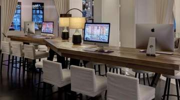 Emaar Hospitably workstation space