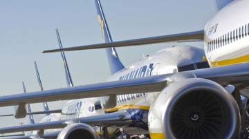 Ryanair's fleet is due to rise to 580 aircraft by 2024