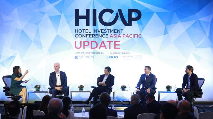 Berrivin (Left), during HICAP UPDATE's panel discussions