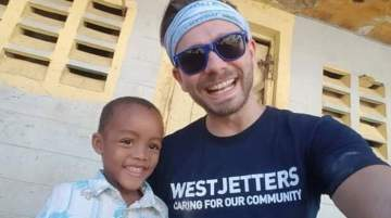 WestJetters build five new homes for families in Dominican Republic