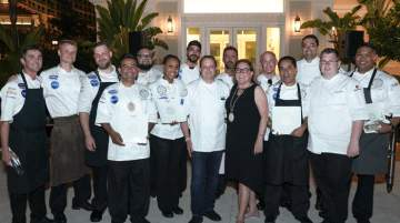 Grand Hyatt Baha Mar hosted chefs to compete in The Good Taste Series Americas Regional Competition