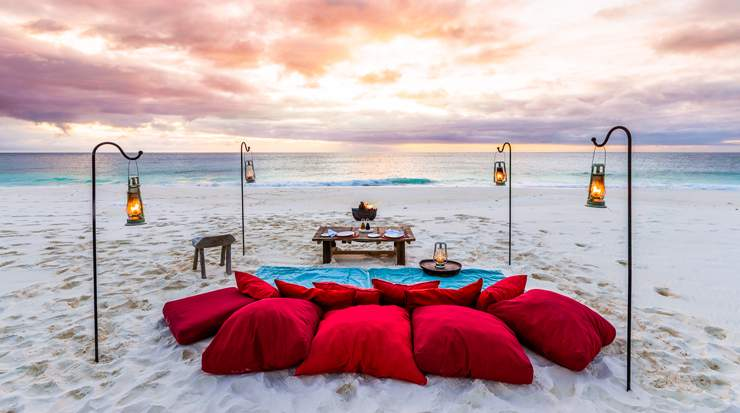 Honeymoon Beach on North Island, a Luxury Collection Resort, Seychelles