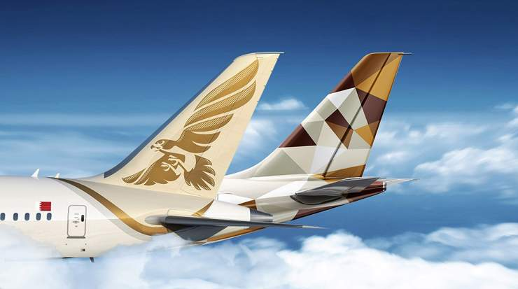 Gulf Air – Etihad Codeshare Adds Four American Airports