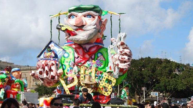 Exciting Seasonal Carnival Event in Malta