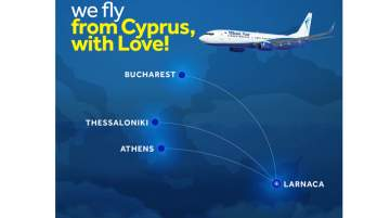 Blue Air Announced the Reopening of Scheduled Flights from Cyprus