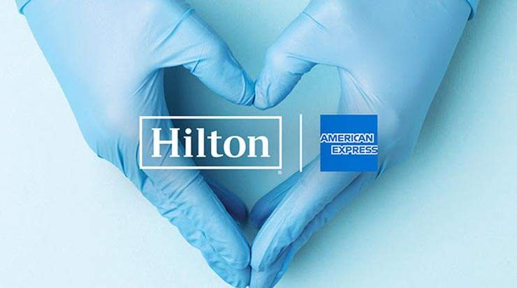 Hilton and American Express Donate to Frontline Medical Professionals