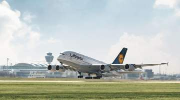 Munich Airport's hub upgraded Lufthansa's fleet with modern Airbus A350 long-haul jets