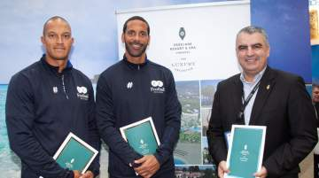 Parklane, a Luxury Collection Resort & Spa confirmed training session dates with Rio Ferdinand and Bobby Zamora