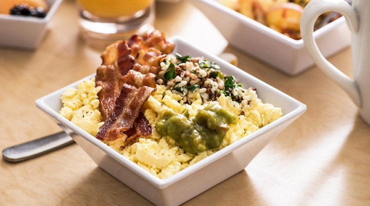 Hyatt Place, California Dreamin' Breakfast Bowl