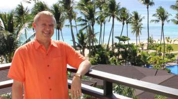 André Brulhart , general manager,  Mövenpick Resort & Spa Boracay