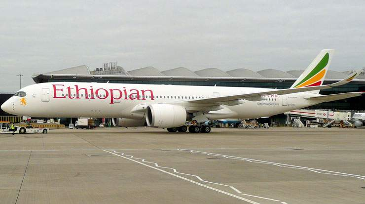 Ethiopian Airlines currently operates more than 100 international passenger and cargo destinations