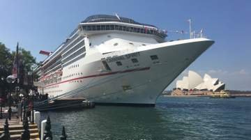Carnival Spirit is the second member of the Spirit-class to be built and enter service