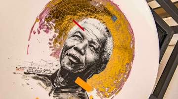 One&Only Cape Town celebrated Nelson Mandela