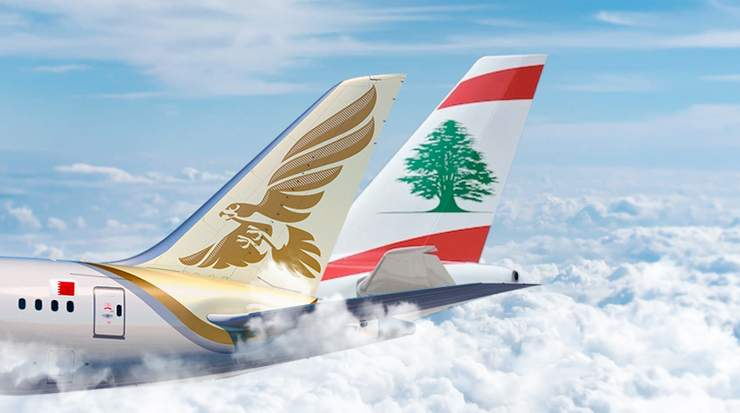 Gulf Air and Middle East Airlines in Codeshare Partnership