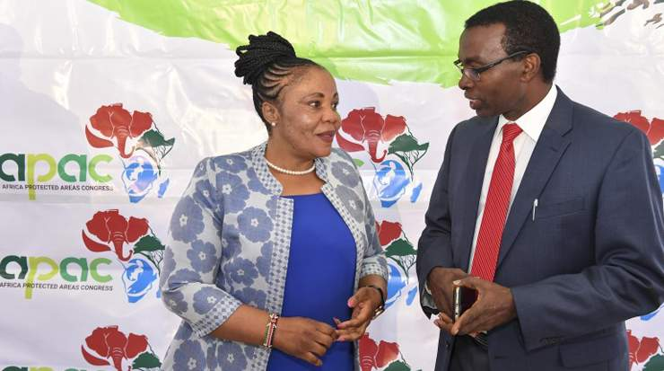 Margaret Mwakima and John Waithaka