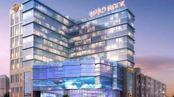 Hard Rock Hotel Atlanta will be located next to Mercedes-Benz Stadium