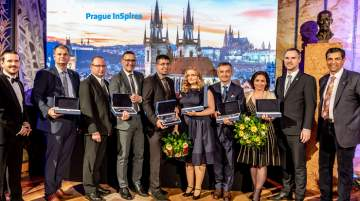 Jubilee 10th Awards Ceremony which took place in Prague