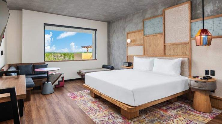 King Guest Room at Aloft Tulum