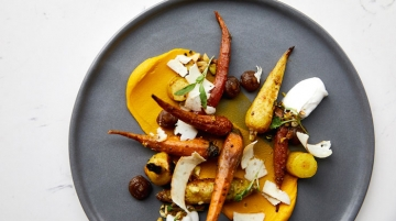 Kimpton's Outlier Vadouvan Curried Carrots