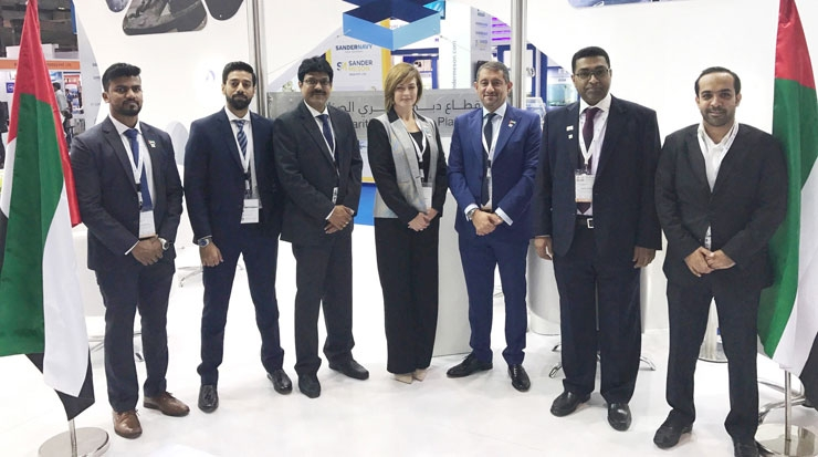 Dubai delegation at INMEX SMM India
