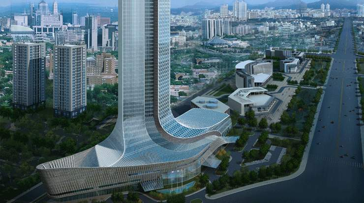 JW Marriott Hotel Yinchuan and Courtyard by Marriott Yinchuan Exterior