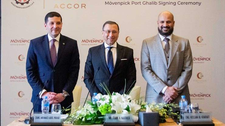 Management agreement signed for a Mövenpick resort in Marsa Alam