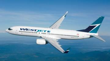 WestJet Encore also operates twice-daily service to Vancouver