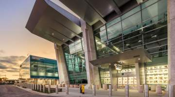 San Diego Airport now also features two new pieces of inspiring artwork