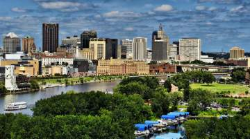 Minneapolis- Saint Paul is commonly known as the 'Twin Cities'