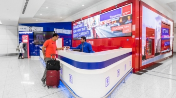 Travelex outlets at Dubai International