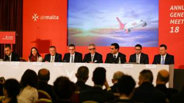 Press conference: Air Malta returns to profitability