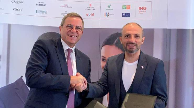 Agreement between IHG and Aleph Hospitality