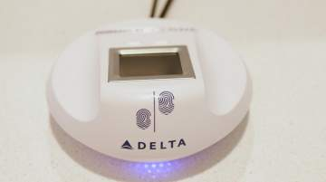 Delta is reportedly the only US airline to offer customers a secure biometric check-in option