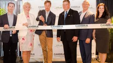 Cambria Hotels celebrated its opening in Nabraska