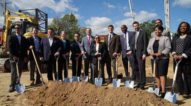 Cambria Hotel Washington D.C. Capitol Riverfront breaks ground