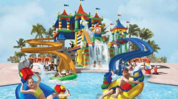 LEGOLAND Water Park offers numerous attractions for every brick fan