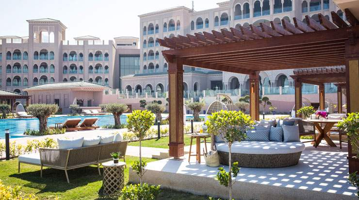 Jumeirah Royal Saray provides luxurious poolside cabanas to its guests