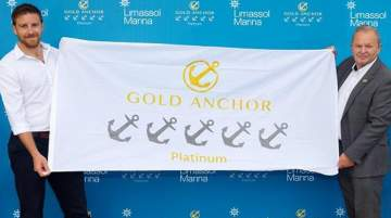 Limassol Marina received the highest industry Award for Excellence