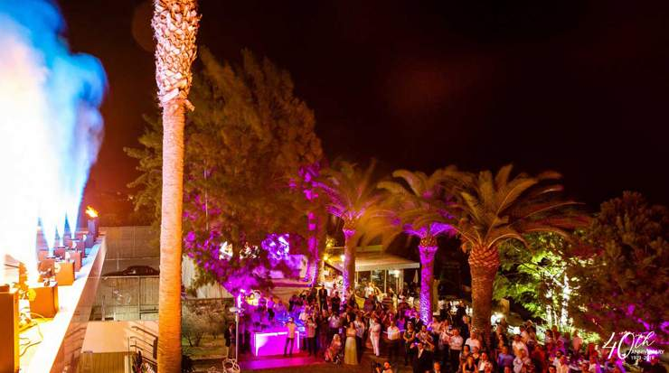 Cocktail party at Crowne Plaza Limassol celebrating 40 years