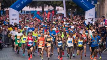 Al Mouj Muscat Marathon hosted in Oman
