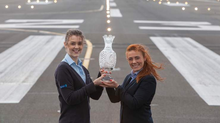 Glasgow Airport official sponsor to The 2019 Solheim Cup