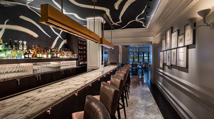 he reimagined luxury hotel has debuted a new social dining experience with Contour