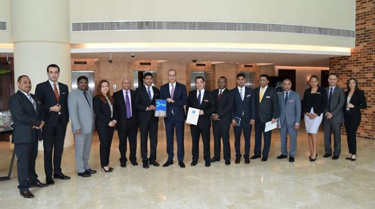 Team at Grand Millennium Al Wahda