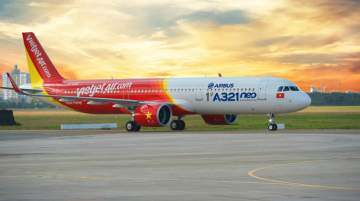 Vietjet flies the most Taiwanese destinations from Vietnam