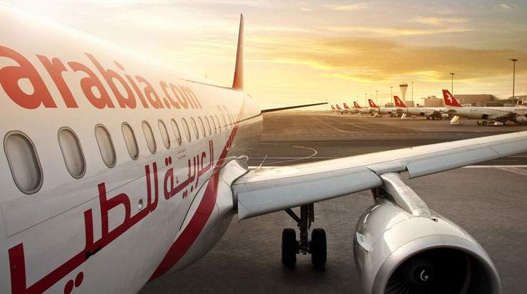Air Arabia's fleet is made up entirely of Airbus A320s