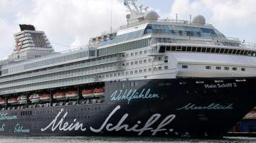 Based on double occupancy, both ships can host up to 2,894 passengers