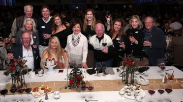 Longtime supporters of Celebrity Ski and Cystic Fibrosis Foundation gathered at the event
