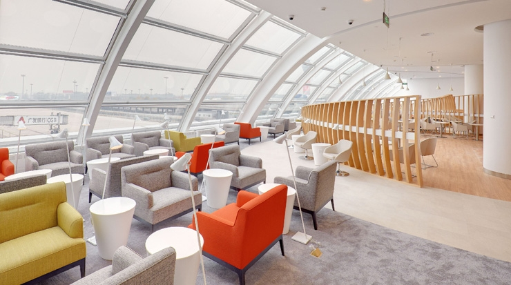 SkyTeams newest lounge in Beijing